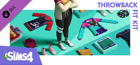 Download The Sims 4 Throwback Fit Kit Free PC Game for Mac