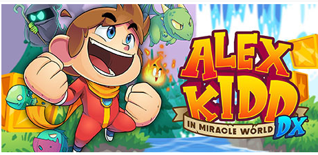 Alex Kidd in Miracle World DX Game Free Download